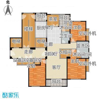 宜兴溪隐府户型3室1厅2卫1厨