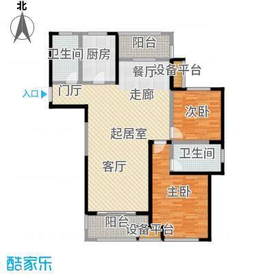 苏宁天�御城123平户型2室2厅2卫