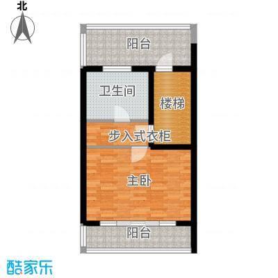 佳兆业东戴河57.30㎡别墅户型10室