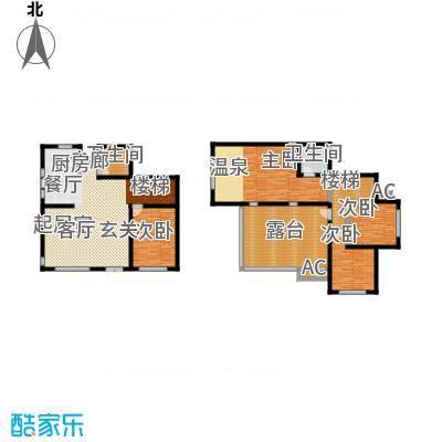 悦榕泉190.00㎡C户型-T