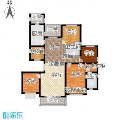 中房颐园143.00㎡A2户型4室2厅2卫