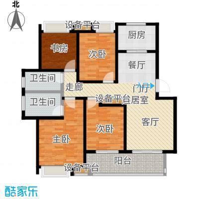 万科玲珑东区110.00㎡E2户型3室2厅1卫户型3室2厅1卫