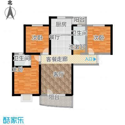 名京公园1号130.81㎡C5户型3室2厅2卫