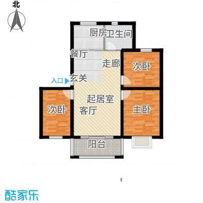 公元209996.86㎡7号楼、8号楼、12号楼户型3室2厅1卫
