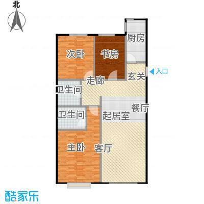 融侨观邸三室二厅二卫户型3室2厅2卫