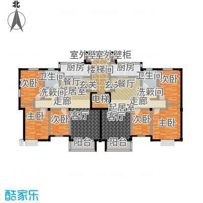 富邦・景润花园户型6室2卫2厨