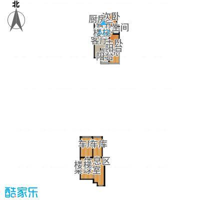 长堤湾104.50㎡洋房Y5-1户型2室2厅1卫