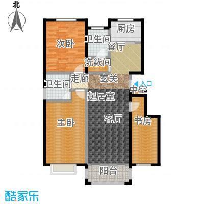 祥龙半岛112.78㎡G户型3室2厅2卫
