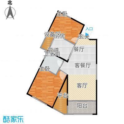 东�一号・��户型2室1厅1卫1厨