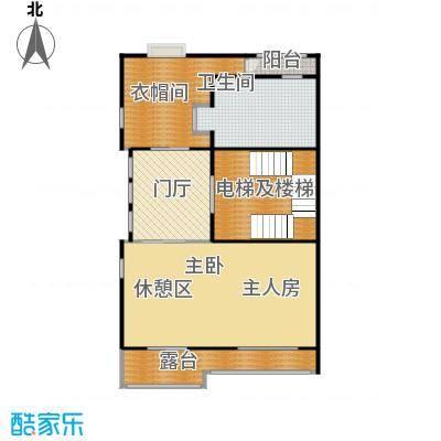 中海紫御公馆415.00㎡三层户型10室