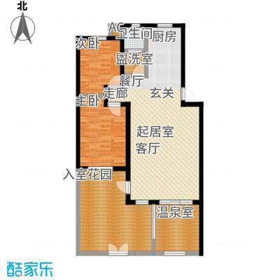 悦榕泉116.00㎡A户型一层(北入口)户型-T