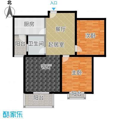 水韵江南98.02㎡面积约:98.02平方米户型2室2厅1卫