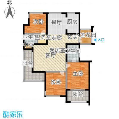 君悦・东湖公馆-T户型3室2卫
