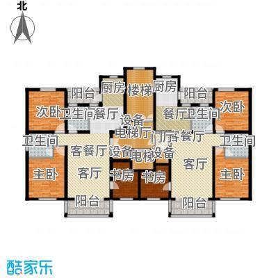 金港湾二期户型6室2厅4卫