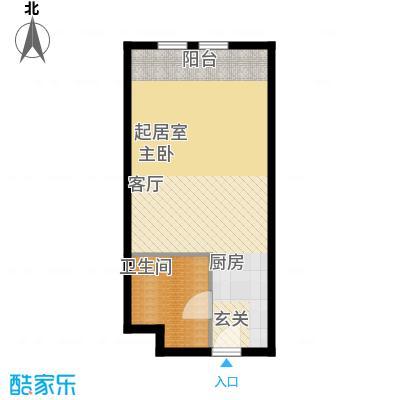 中海御湖翰苑C 43-48平米户型