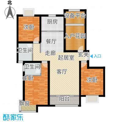松石国际城户型3室2卫1厨
