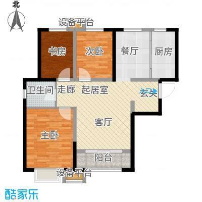 天洋 翠堤湾3室2厅1卫