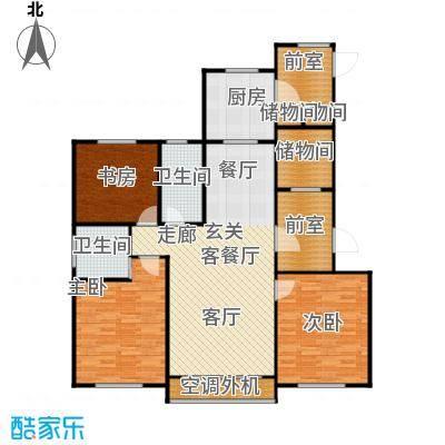 牡丹城户型3室1厅2卫1厨
