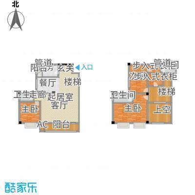 长安未来国际205.52㎡J户型4室3厅3卫