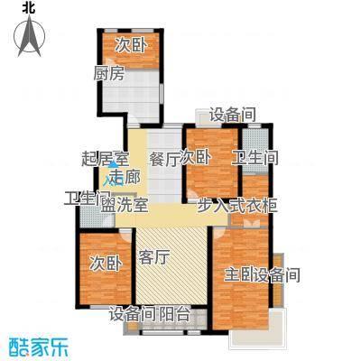 百合小筑160.75㎡四室两厅两卫160.75㎡Q户型4室2厅2卫