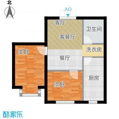 青青学邻户型2室1厅1卫1厨