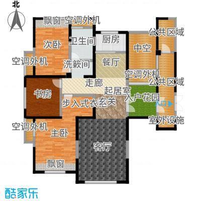 三江尊园130.00㎡C户型3室2厅1卫