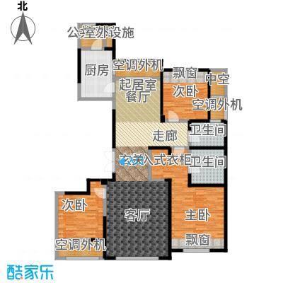 三江尊园140.00㎡A户型3室2厅2卫
