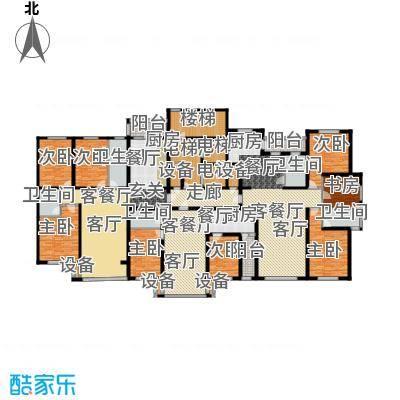 金港湾二期户型8室3厅5卫