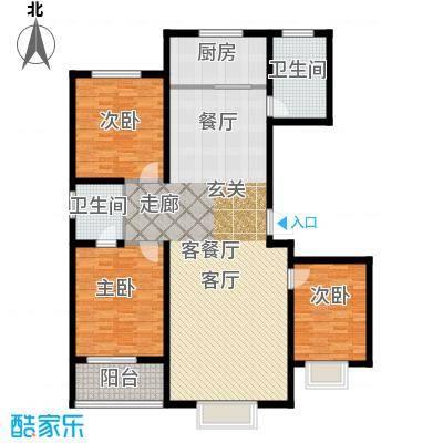 天润国际城户型3室1厅2卫1厨