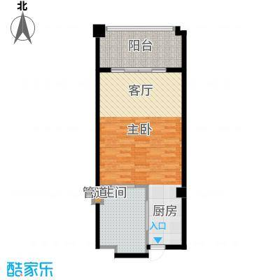 戴河首岭酒店式公寓户型1室