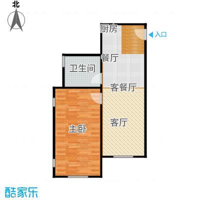 海岸别苑户型1室1厅1卫