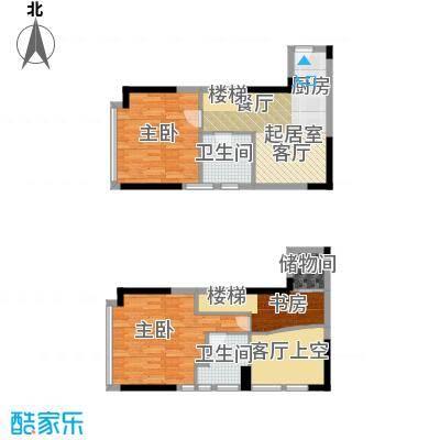 御东雅苑90.51㎡B1公寓户型3室2卫
