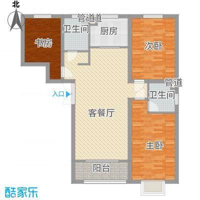 金舍博贤院134.84㎡3室2厅2卫