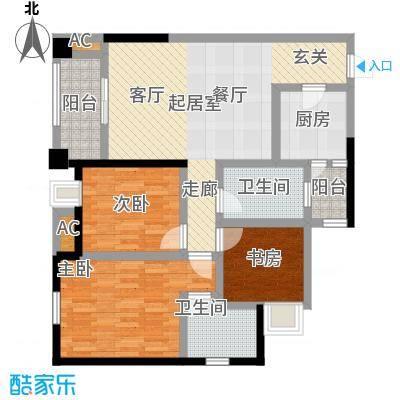 凯江盛世99.48㎡B3户型-T