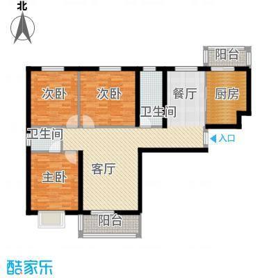 滨海国际127.30㎡L户型3室2厅2卫