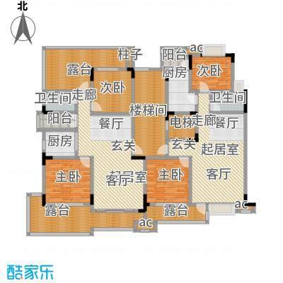 君山公馆A7栋1单元7层户型