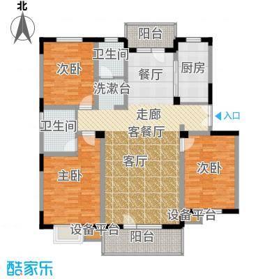 名京公园1号140.25㎡A6户型3室2厅2卫