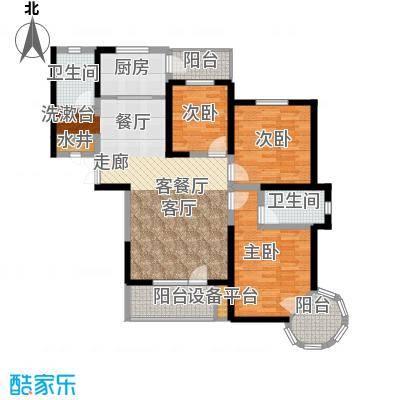 名京公园1号141.43㎡C4户型3室2厅2卫