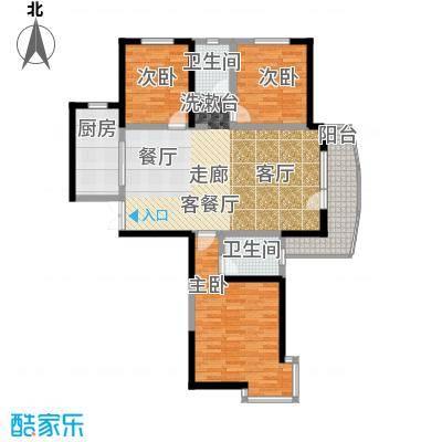 名京公园1号143.90㎡C5户型3室2厅2卫