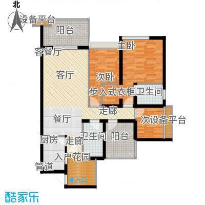 鑫沙时代未命名户型3室1厅2卫1厨