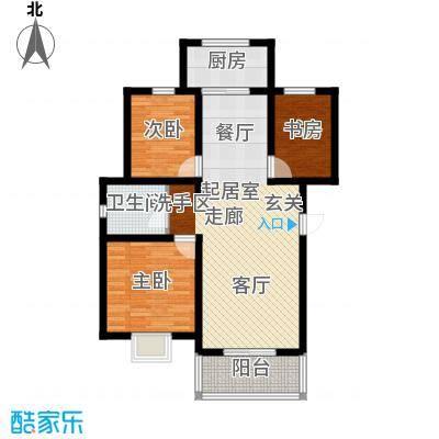公元209994.42㎡6号楼、9号楼、11号楼、13号楼、17号楼户型3室2厅1卫