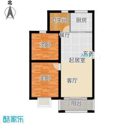 公元209981.52㎡7号楼、8号楼、12号楼户型2室2厅1卫