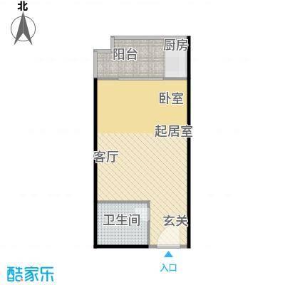 翰林17坊翰林17坊 公寓1室1厅1卫1厨-41.61户型