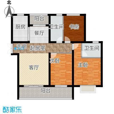 中房颐园132.00㎡D3户型3室2厅2卫