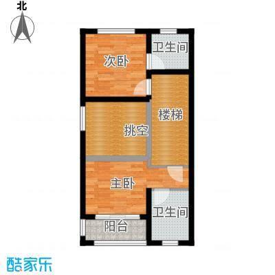 佳兆业东戴河57.55㎡别墅户型10室