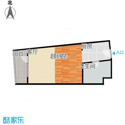 海天翼A1户型1室1厅1卫