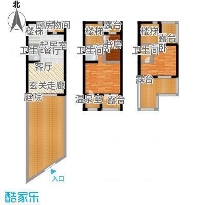 悦榕泉145.00㎡B户型-T
