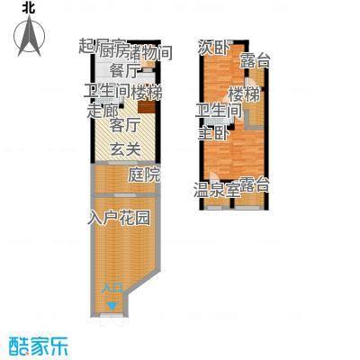 悦榕泉114.00㎡B户型-T