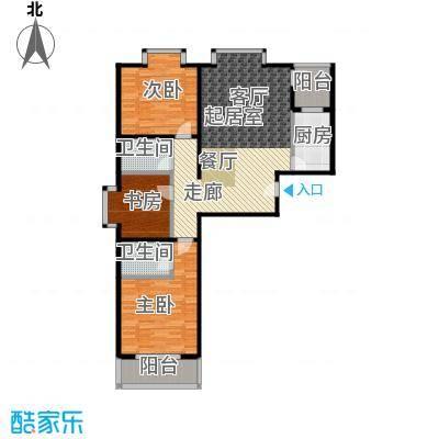 水韵江南131.09㎡面积约:131.09平方米户型3室2厅2卫