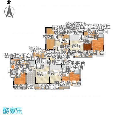 旺城壹号沁芳轩01-03单位户型